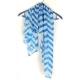 Blauw Met Witte Strepen Sjaal