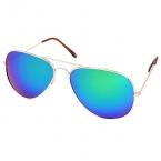 Blauw Paarse Reflectie Bril