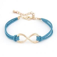Blauwe 'Oneindige' Armband