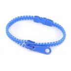 Blauwe Rits Armband