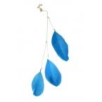 Blauwe Veren Ear Cuff
