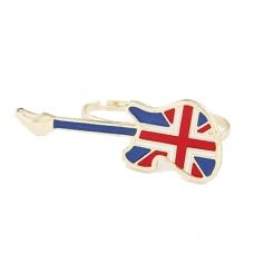 Britse Vlag Gitaar Ring