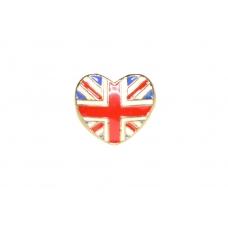 Britse Vlag In Hartvorm Ring