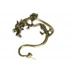 Donker Gouden Draak Ear Cuff