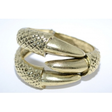 Donker Gouden Klauw Armband