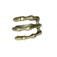 Donker Gouden Klauw Ring