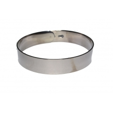 Donker Grijze Ring Armband