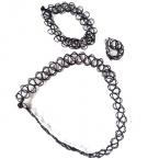 Elastische Zwarte Armband