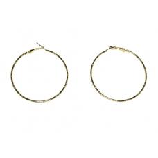 Gedraaide Gouden Ringen Oorbellen