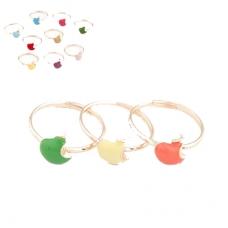 Gekleurde Appels Ringen Set