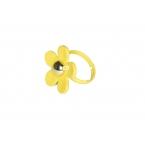 Gele Bloem Ring