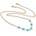 Goud Met Turquoise Kruizen Body Chain
