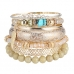 Gouden Assorti Met Blad Armbanden