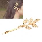 Gouden Bladeren Haar Clip