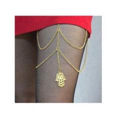 Gouden Chain & Hand Heup Ketting