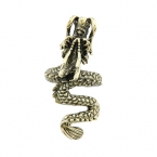 Gouden Chinese Draak Ring
