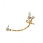 Gouden Engel Ear Cuff