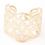 Gouden Flower Figuren Armband