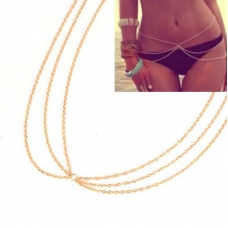 Gouden Heup Ketting Body Chain