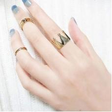Gouden Kroon Ringen Set
