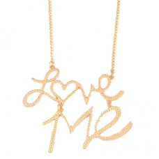 Gouden Love Me Ketting