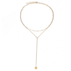 Gouden Ster Ketting