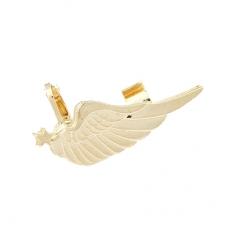 Gouden Vleugel Klemmen Ear Cuff