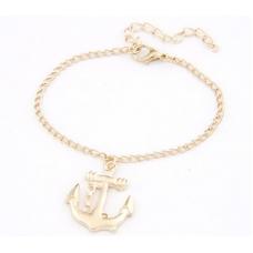 Gouden Anker Armband