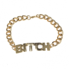 Gouden Bitch Armband