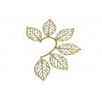 Gouden Bladeren Earcuff