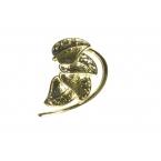 Gouden Bladeren Ear Cuff II