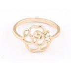 Gouden Bloemetje Ring