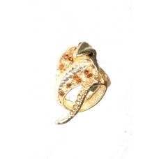Gouden Cobra Ring