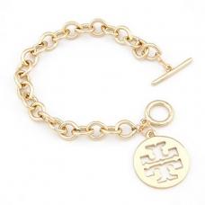 Gouden Coin Armband