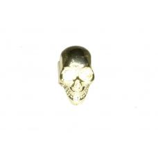 Gouden Doodskop Ear Cuff II