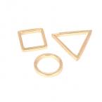 Gouden Figuren Ringen Set