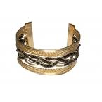Gouden Gevlochten Deluxe Armband