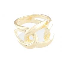 Gouden Gewoven Ring