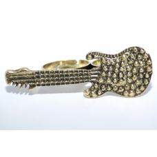 Gouden Gitaar Ring