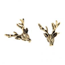 Gouden Herten Oorbellen