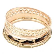 Gouden Infinity Armbanden Set