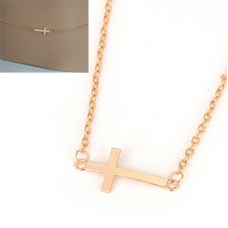 Gouden Kruis Body Chain