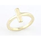 Gouden Kruisje Ring