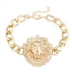 Gouden Leeuw Armband