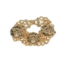 Gouden Leeuwen Armband