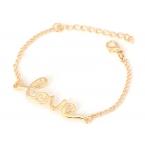 Gouden 'Love' Armband
