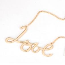 Gouden Love Ketting