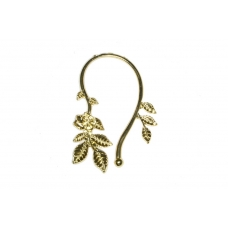 Gouden Luxe Bladeren Ear Cuff