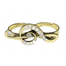 Gouden Muzieknoot Ring