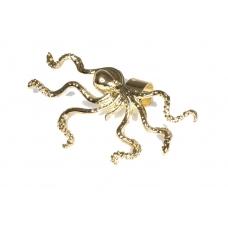 Gouden Octopus Ear Cuff
